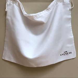 COACH DUST COVER BAG FOR HANDBAGS - LARGE  - NEW